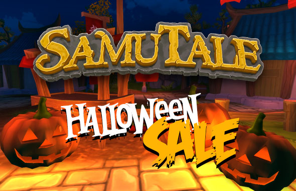 Halloween sale and new update