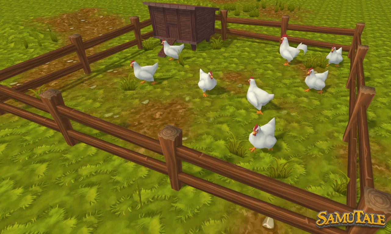 SamuTale Chickens