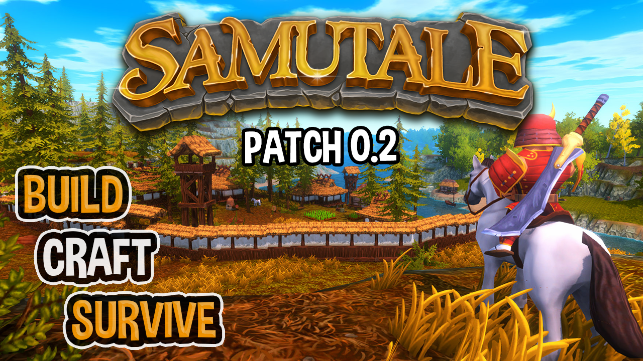 SamuTale (Sandbox Survival MMO) Patch 0.2 Teaser Trailer