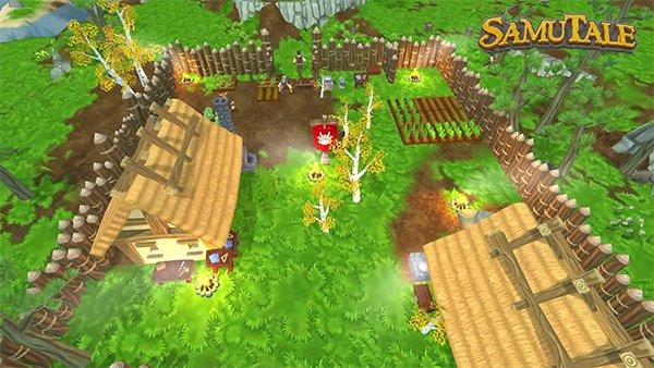 SamuTale, an open world sandbox survival MMORPG